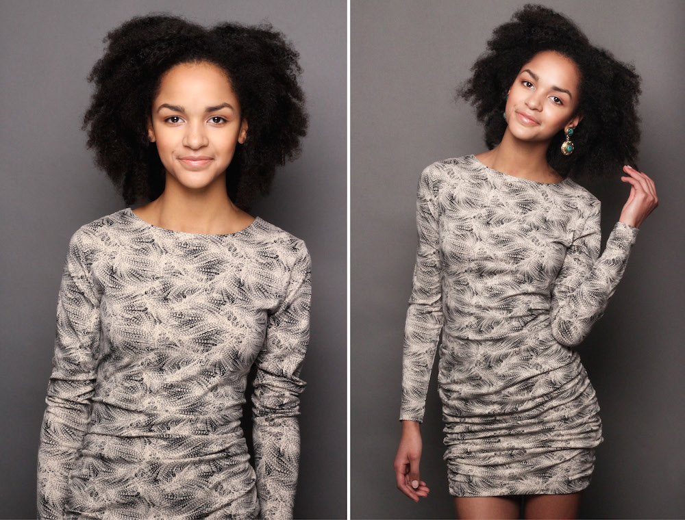 how to style a simple organic cotton dress for christmas
