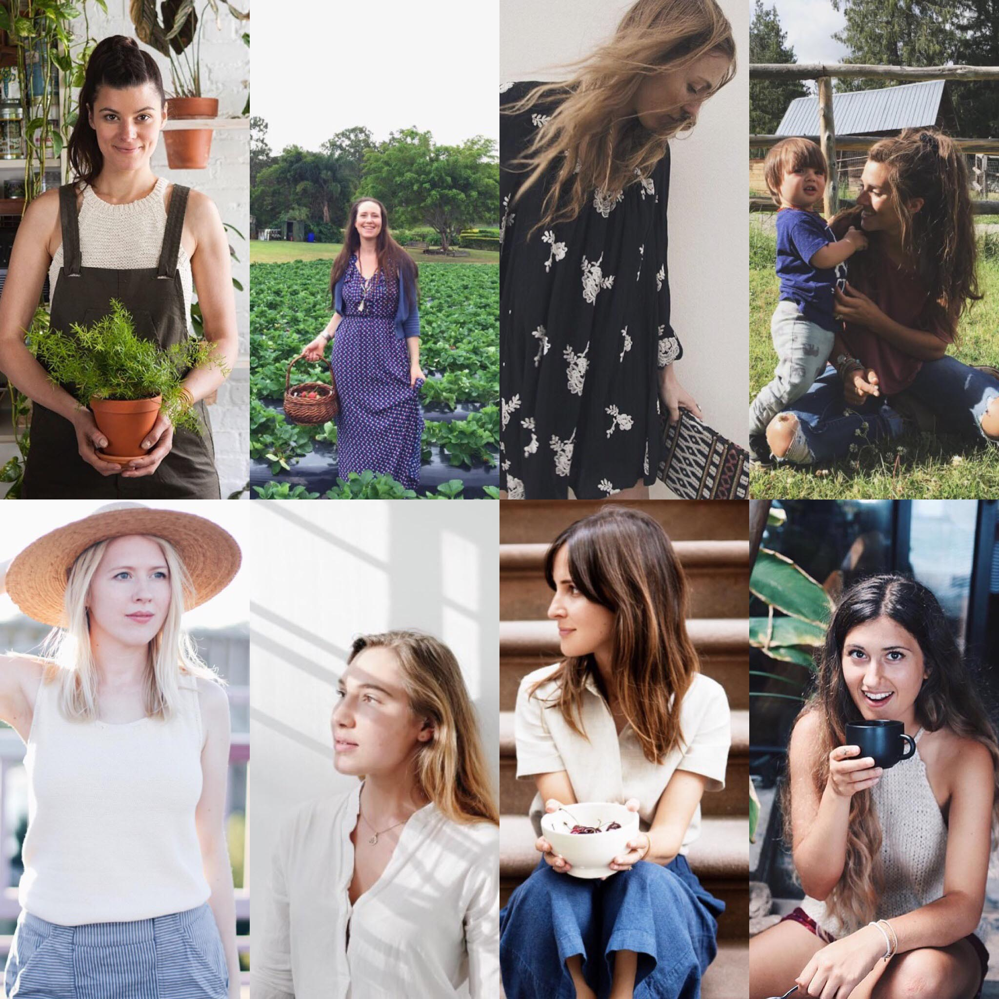 authentic and eco conscious women on instagram